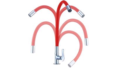 torneira lorenflex 1177 r27 com bica flexivel de bancada lorenzetti vermelha descricao1