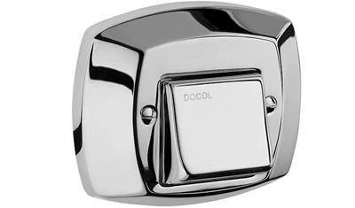 acabamento para valvula de dercarga docol classico 1500006 cromado descricao