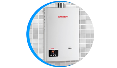 aquecedor de agua a gas lorenzetti lz 1600d digital descricao