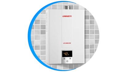 aquecedor de agua a gas lorenzetti lz 2000de digital descricao