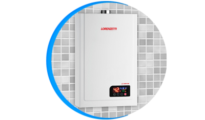 aquecedor de agua a gas lorenzetti lz 2300de digital descricao