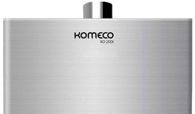 aquecedor de agua a gas komeco ko 25di descricaoinox