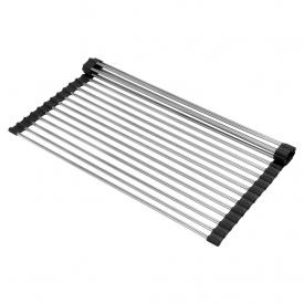 escorredor de loucas multiuso grid drainer debacco inox capa