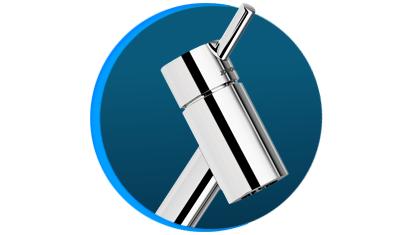 torneira para banheiro docol loggica 274006 de mesa bica baixa cromada desenho descricao 01