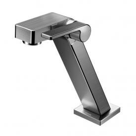 torneira para banheiro docolstillo docolchroma 820279 de mesa grafite escovado capa 01