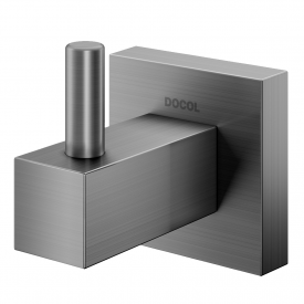 cabide docol square 388370 docolchroma grafite escovado capa