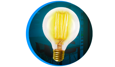 lampada filamento de carbono taschibra g80 40w e27 descricao