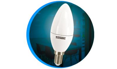 lampada led taschibra vela 3 1w bivolt leitosa 6500k luz branca descricao
