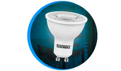 lampada led taschibra dicroica 3w bivolt gu10 descricao