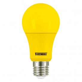 lampada led taschibra tkl colors 5w bivolt e27 amarela