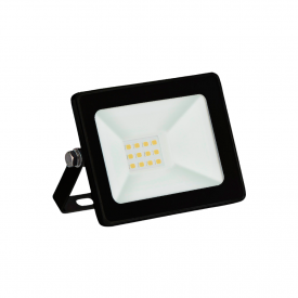 refletor taschibra tr led 10 slim 10w preto bivolt capa 01