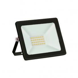 refletor taschibra tr led 20 slim 20w preto bivolt capa 01