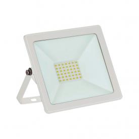 refletor taschibra tr led 30 slim 30w branco bivolt capa 01