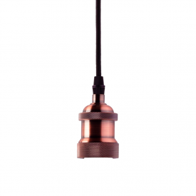pendente taschibra dot metal decor indie e27 bivolt cobre capa 01