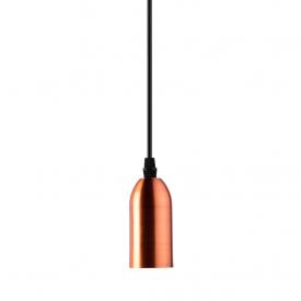 pendente taschibra dot metal decor vintage e27 bivolt cobre capa 01