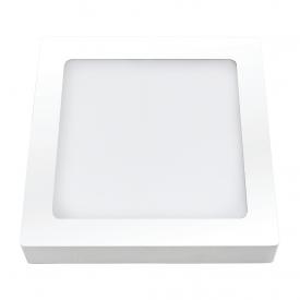 painel plafon led ourolux sobrepor 24w quadrado 6500k bivolt capa 01