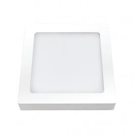 painel plafon led ourolux sobrepor 18w quadrado 6500k bivolt capa 01