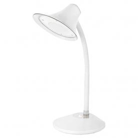 luminaria de mesa taschibra tlm 10 bivolt 6500k luz branca branco capa 01