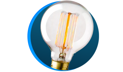 lampada filamento de carbono blumenox g80 40w e27 descricao 01