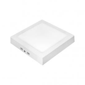 painel led taschibra lux de sobrepor 18w quadrado 3000k bivolt capa 01