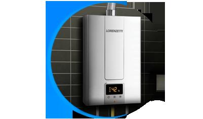 aquecedor de agua a gas lorenzetti lz 2000d i inox digital descricao 01