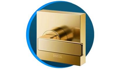 acabamento para registro docol docolstillo 823943 docolbase ouro polido descricao