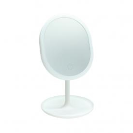 luminaria de mesa com espelho make led taschibra 4000k luz neutra
