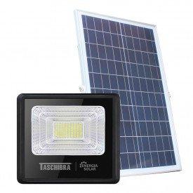 refletor taschibra led solar tr sun 40w preto 01
