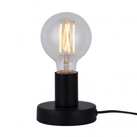 luminaria de mesa taschibra single e27 bivolt preta capa 01