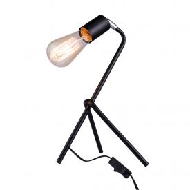 luminaria de mesa taschibra stand e27 bivolt preta capa 01