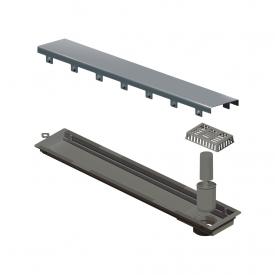 ralo linear elleve versatile 4252 tampa inox 50cm capa