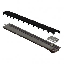 ralo linear elleve versatile 4260 tampa black matte 75cm