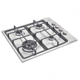cooktop a gas tramontina square 94701214 com 4 bocas em aco inox capa 01