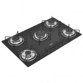 cooktop a gas tramontina brasil 94708501 com 5 bocas bivolt preto capa 01