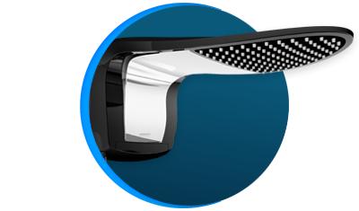 chuveiro lorenzetti acqua wave ultra eletronico preto cromado descricao 01