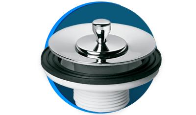 valvula de saida d agua universal luxo docol 444306 para lavatorio cromada descricao