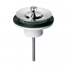 valvula de saida d agua universal luxo docol 444306 para lavatorio cromada