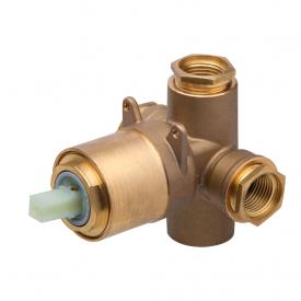 base misturador monocomando docol 545800 para banheira ou chuveiro 1 2 e 3 4