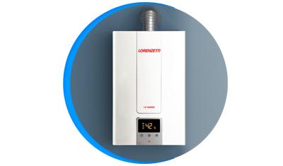 aquecedor de agua a gas lorenzetti lz 1600de digital descricao