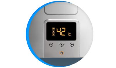 aquecedor de agua a gas lorenzetti lz 1600de i inox digital descricao 02