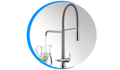 misturador monocomando lorenkitchen 2264 c76 bancada ducha e saida para agua filtrada lorenzetti