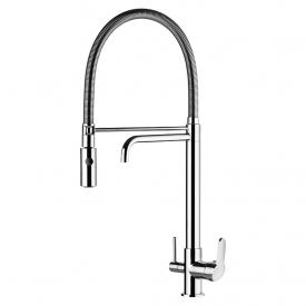 misturador monocomando lorenkitchen 2264 c76 bancada ducha e saida para agua filtrada lorenzetti capa 01