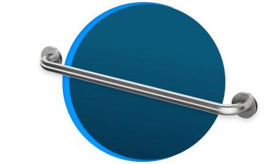 barra de apoio reta docol benefit 70cm 963616 inox escovado descricao